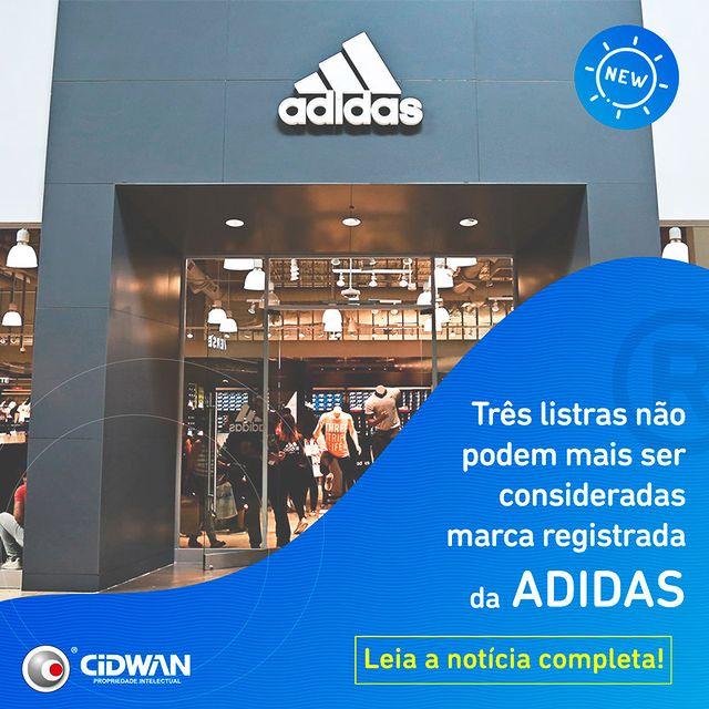 Três listras não podem mais ser consideradas marca registrada da Adidas!